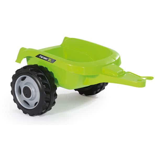 tracteur farmer xl vache remorque smoby king jouet. Black Bedroom Furniture Sets. Home Design Ideas