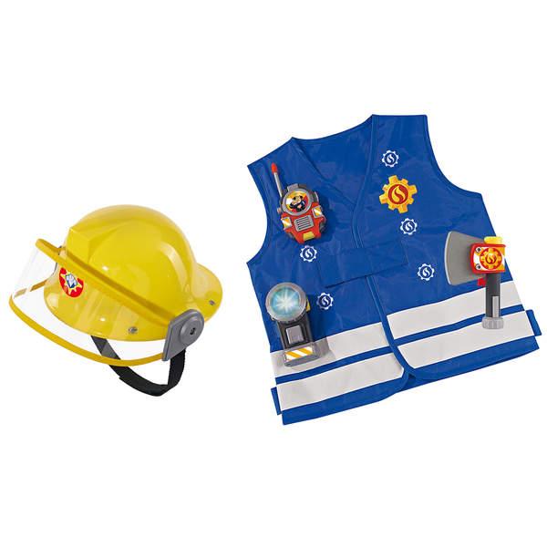 kit de pompier sam le pompier casque smoby king jouet. Black Bedroom Furniture Sets. Home Design Ideas