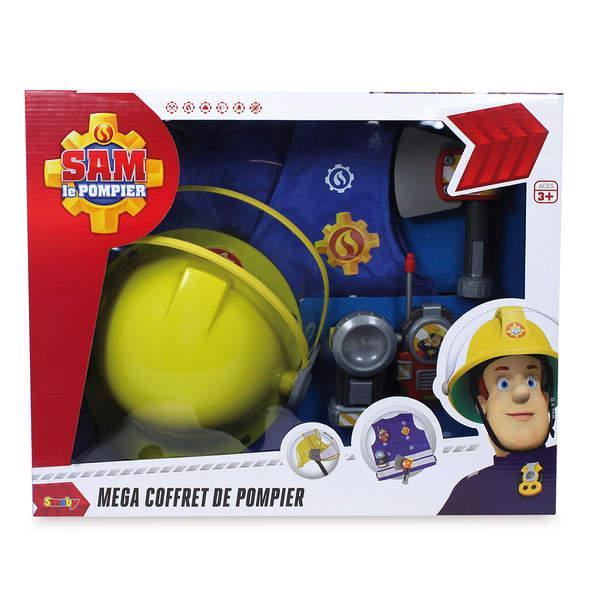 sam le pompier kit pompier casque smoby king jouet. Black Bedroom Furniture Sets. Home Design Ideas
