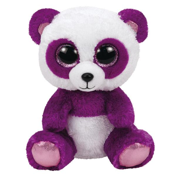 Beanie boo 39 s medium peluche boom boom le panda ty king - Toutou a gros yeux ...