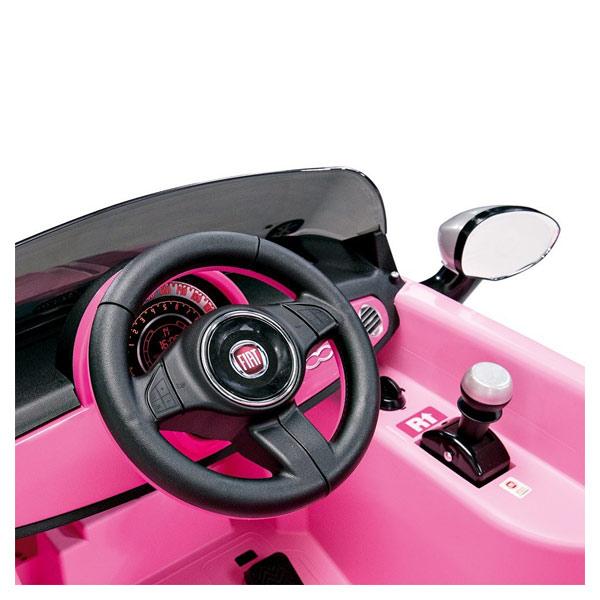 Voiture Fiat 500 S rose
