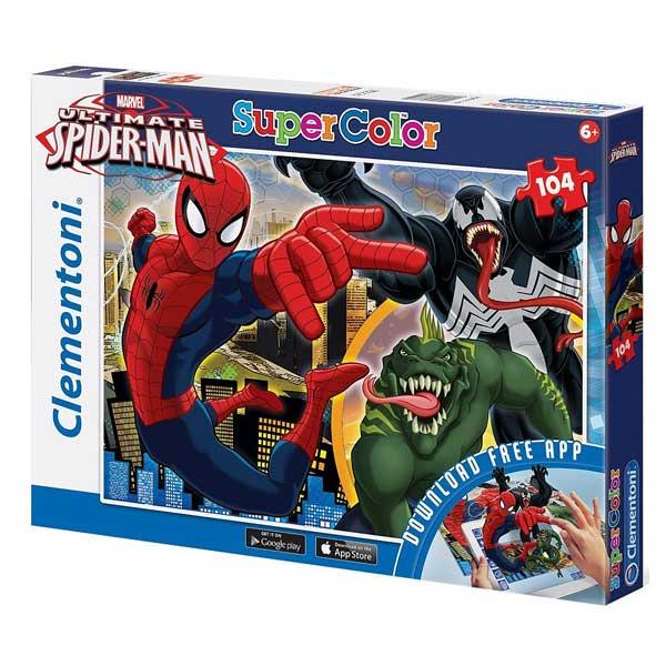 Un puzzle et une aventure numérique : deux jeux en un. Puzzle de 104 pièces à l´effigie de l´homme-araignée, Spiderman. Vous vivrez ses aventures, à la rencontre de personnages plus inquiétants les uns que les autres mais dont il finira, comme toujours, p