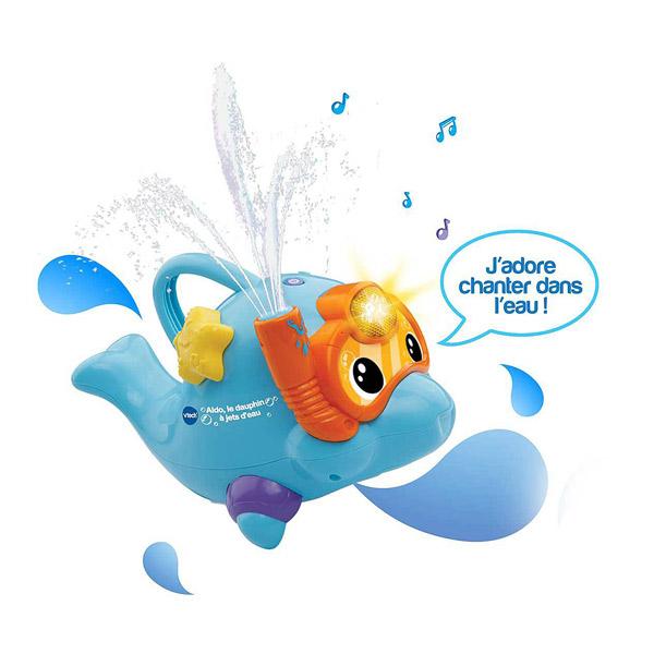 Aldo le dauphin à jets d
