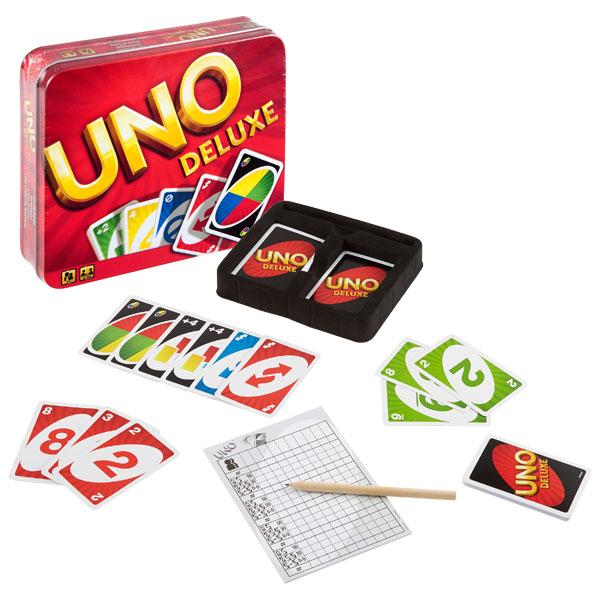 Uno De Luxe Mattel Jeux King Jouet Jeux De Cartes