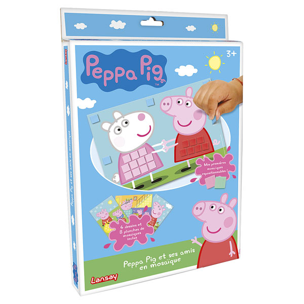 mosaique peppa pig petites annonces jeux jouets. Black Bedroom Furniture Sets. Home Design Ideas