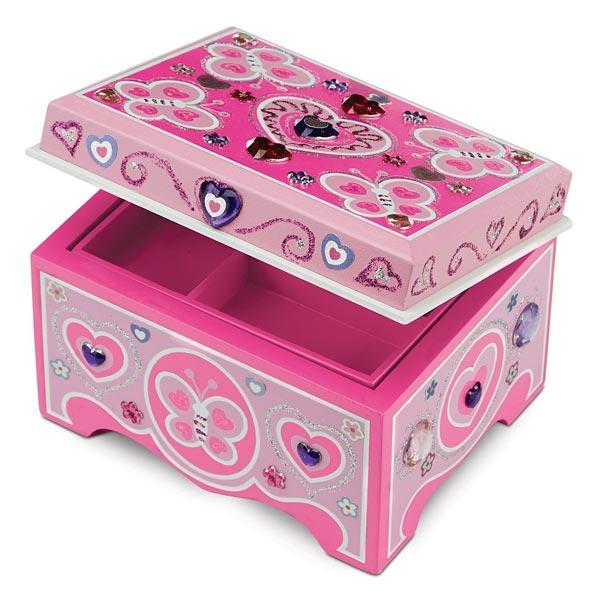 coffre bijoux melissa and doug king jouet perles. Black Bedroom Furniture Sets. Home Design Ideas