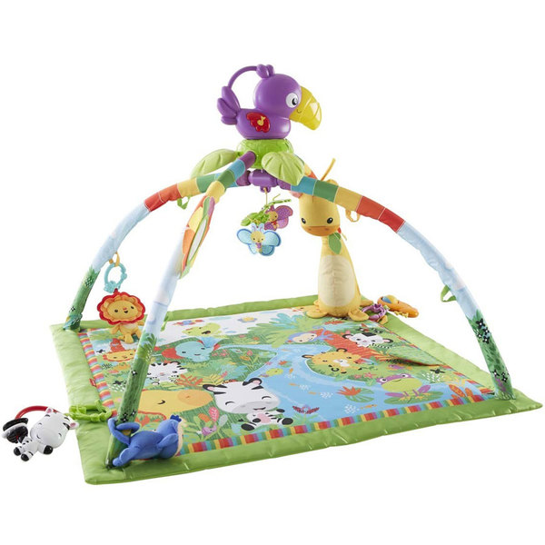Fisher price tapis de la jungle fisher price king jouet tapis d 39 veil fisher price jeux d 39 veil - Tapis d eveil kick and play ...