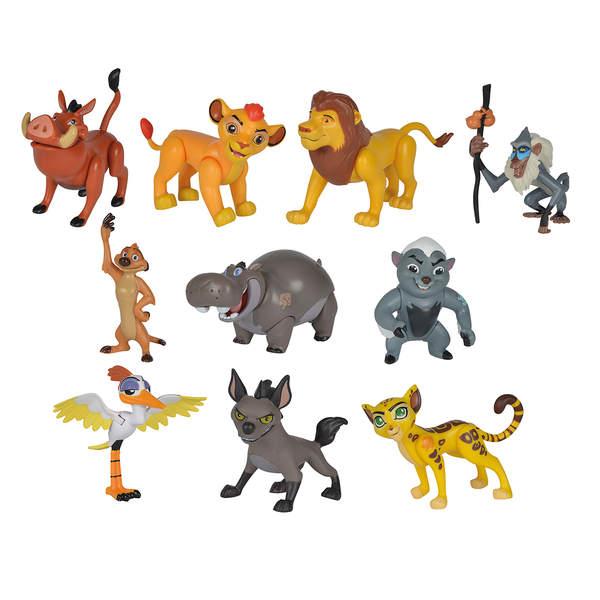 Roi Lion coffret 10 figurines 8 cm