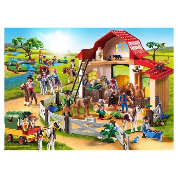 6927 poney club playmobil country playmobil king jouet for Piscine playmobil jouet club