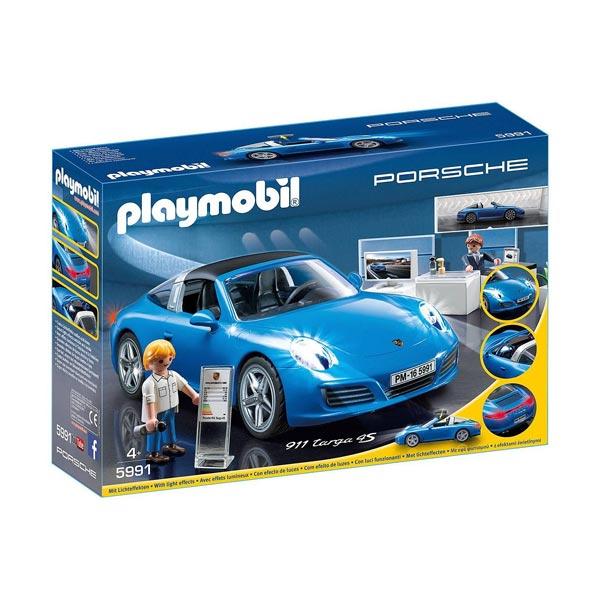 5991-Playmobil Porsche-Porsche 911 Targa 4S
