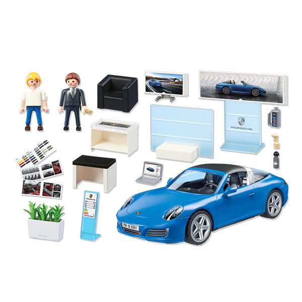 5991 porsche 911 targa 4s playmobil sport et action playmobil king jouet playmobil. Black Bedroom Furniture Sets. Home Design Ideas