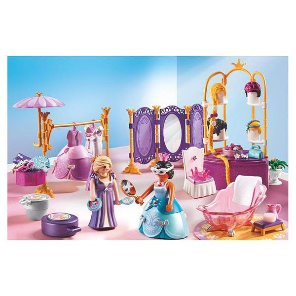 6850-Salon de beauté avec princesses - Playmobil Princess