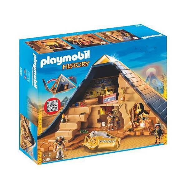 5386-Pyramide du Pharaon - Playmobil History