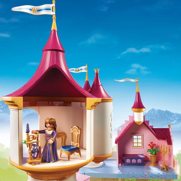 6848 grand ch teau de princesse playmobil princess for Chateau playmobil princesse 5142