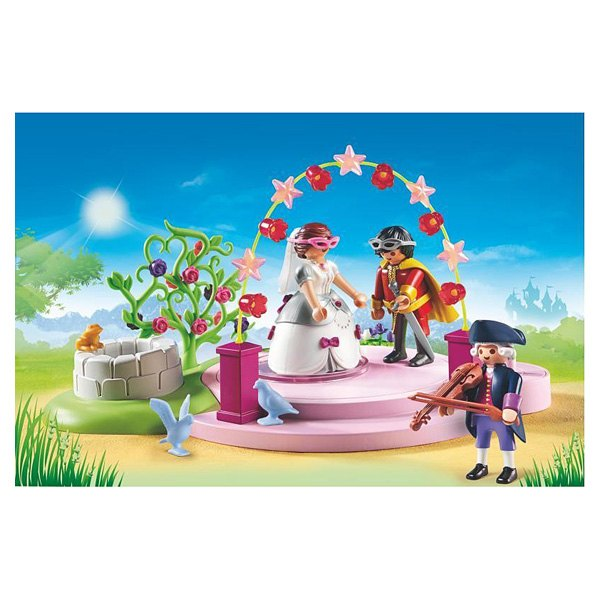 6853-Couple princier masqué - Playmobil Princess