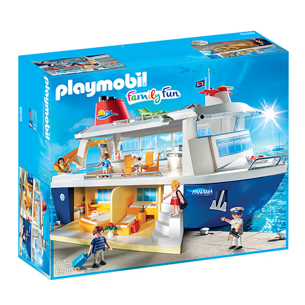 6978-Playmobil Family fun-Bateau de croisière