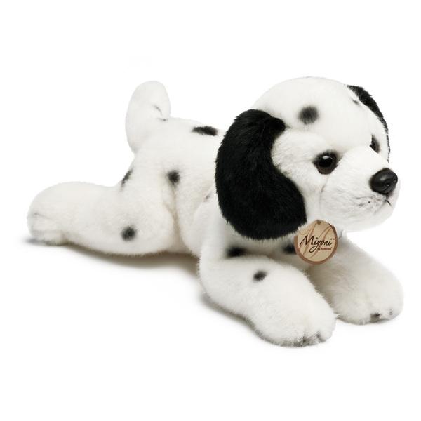 Peluche chien couché 20 cm