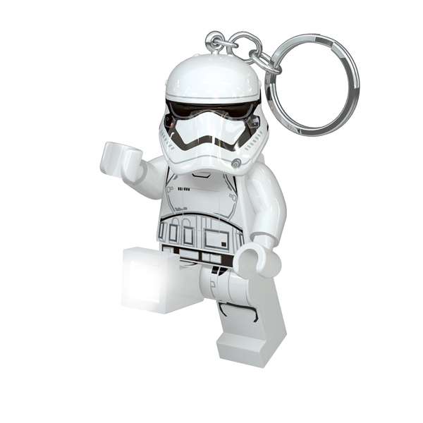 Lego Star Wars-Porte-clés LED Stormtrooper