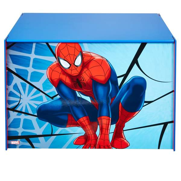 Coffre spiderman room studio king jouet d coration de for Decoration chambre spiderman
