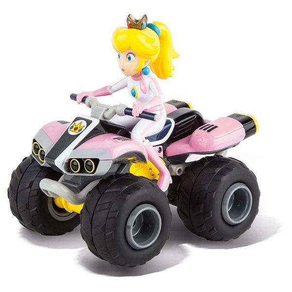 mario kart 8 quad peach radiocommand 1 20 me carrera king jouet quads motos. Black Bedroom Furniture Sets. Home Design Ideas