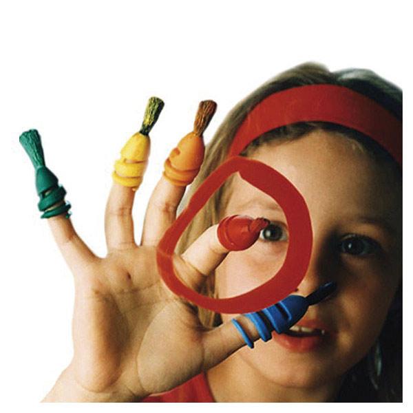 Fingermax boîte pinceaux primaire