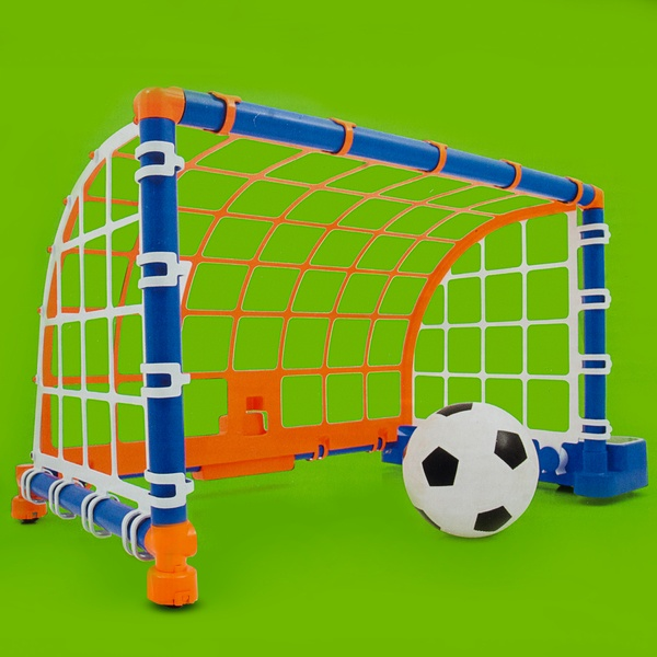 cage de foot mobile int rieure sun sport king jouet jeux de balles et ballons sun sport. Black Bedroom Furniture Sets. Home Design Ideas