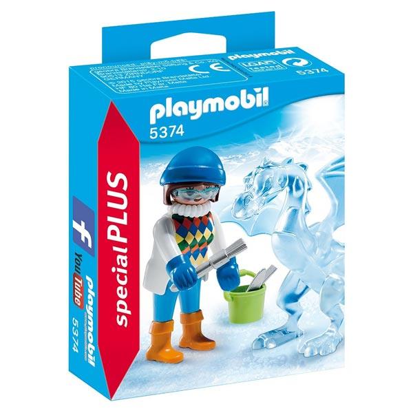 5374-Artiste avec sculpture de glace - Playmobil Spécial Plus