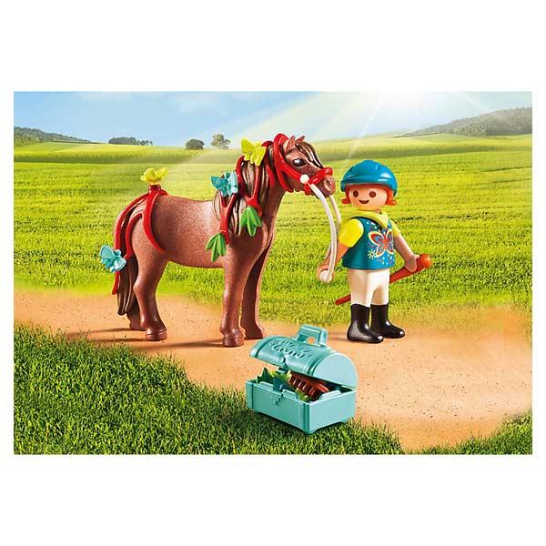 6971-Poney à décorer papillons - Playmobil Country