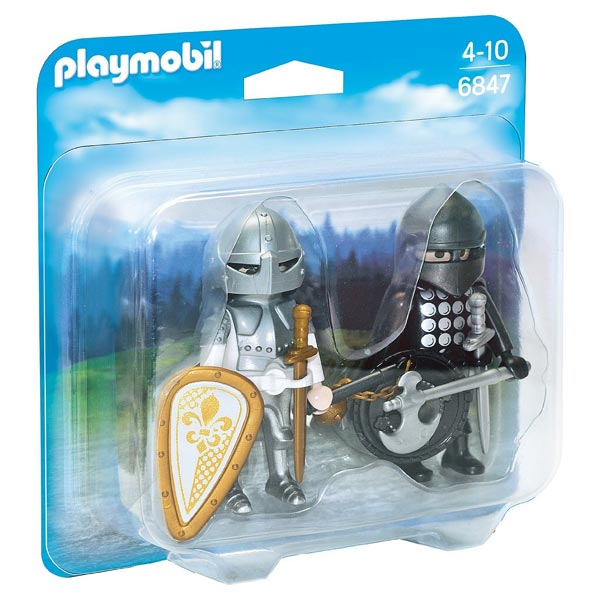 6847-Chevalier noir et chevalier d