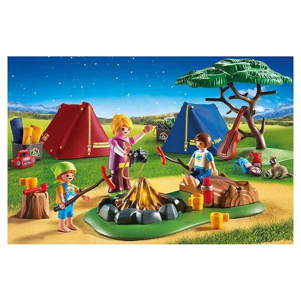 6888-Tentes Avec Enfants Et Animatrice - Playmobil Summer Fun