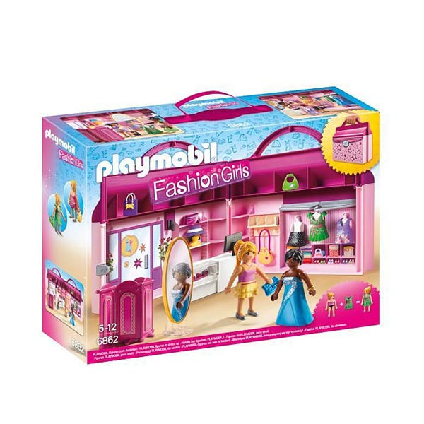 Playmobil Fashion Girls Le Magasin Transportable