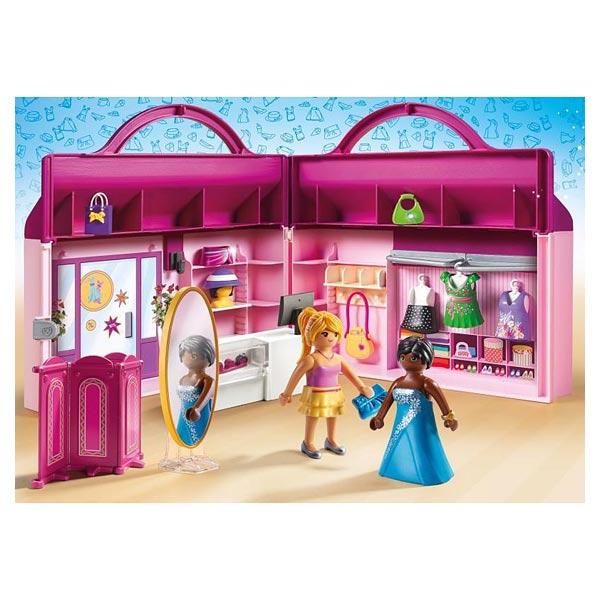 Playmobil Fashion Girl Magasin Transportable