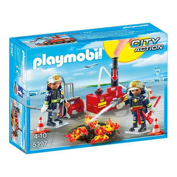 5397-Pompiers avec matériel d