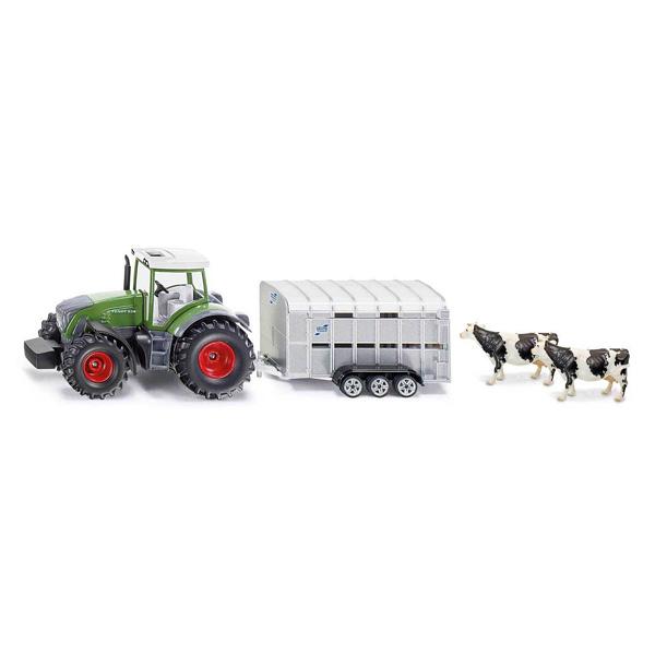 Tracteur + bétaillère échelle 1/50ème