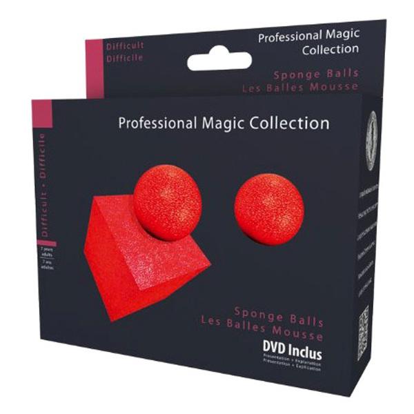 Tour de magie-Balles mousse avec DVD