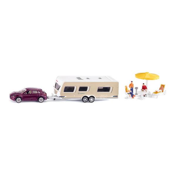 Voiture Avec Caravane