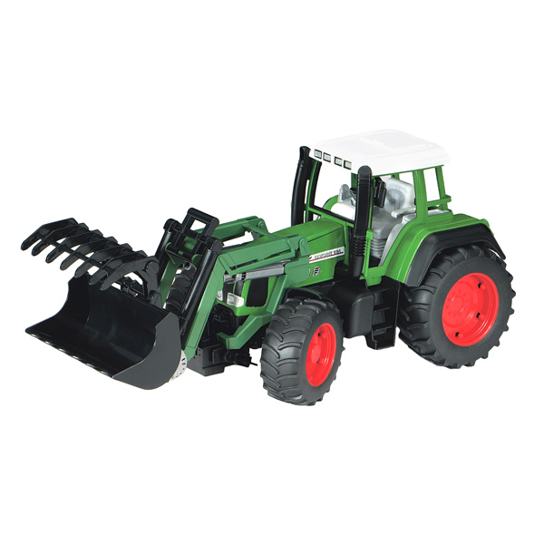 tracteur fendt et chargeur bruder king jouet v hicules de chantier et tracteurs bruder. Black Bedroom Furniture Sets. Home Design Ideas