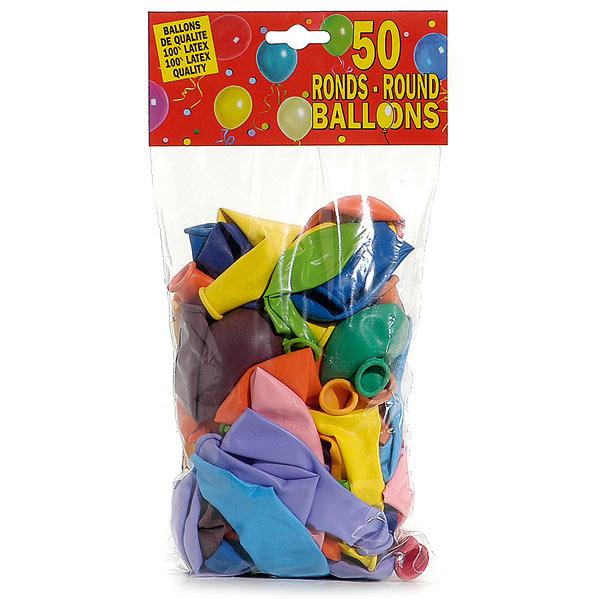 50 ballons d25cm pour 6€