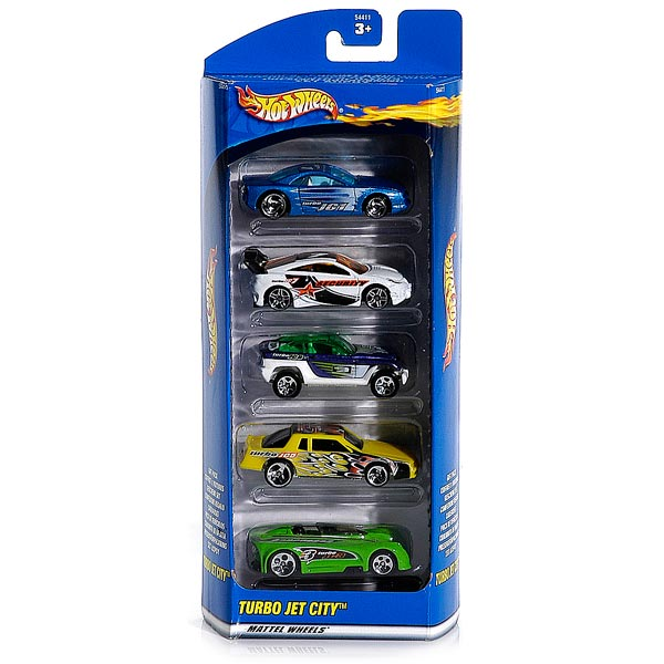 coffret 5 voitures hot wheels mattel king jouet les autres v hicules mattel v hicules. Black Bedroom Furniture Sets. Home Design Ideas