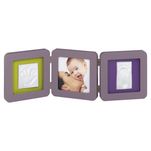 Baby Art Double Print Violet+ La décoration + Baby Art