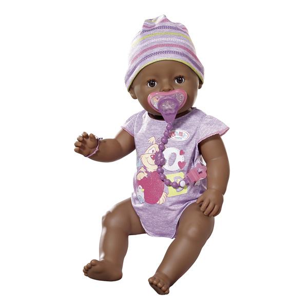 Poupon interactif Baby Born chocolat