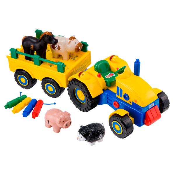 tracteur remorque jouet. Black Bedroom Furniture Sets. Home Design Ideas