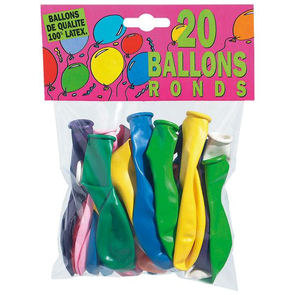 20 ballons pour 2€