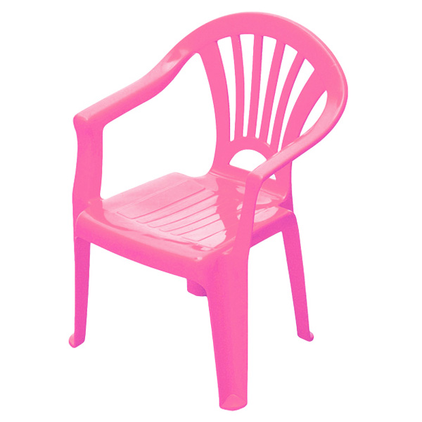 Chaise enfant rose sun sport king jouet maisons for Chaise rose