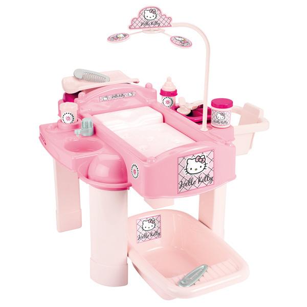 nursery hello kitty rose ecoiffier king jouet faire comme les grands ecoiffier jeux d. Black Bedroom Furniture Sets. Home Design Ideas