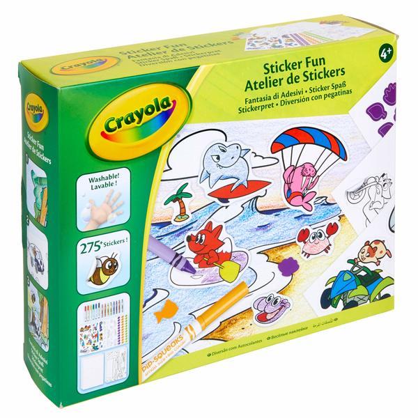 Jeux de gommettes crayola king jouet dessin et peinture - Jeu de peinture en ligne ...