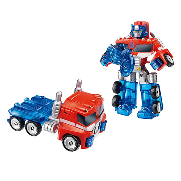 transformers rescue bots optimus prime playskool king jouet h ros univers playskool jeux. Black Bedroom Furniture Sets. Home Design Ideas