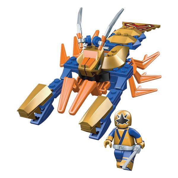 Power rangers zord griffe dor mega bloks king jouet - Power rangers dore ...
