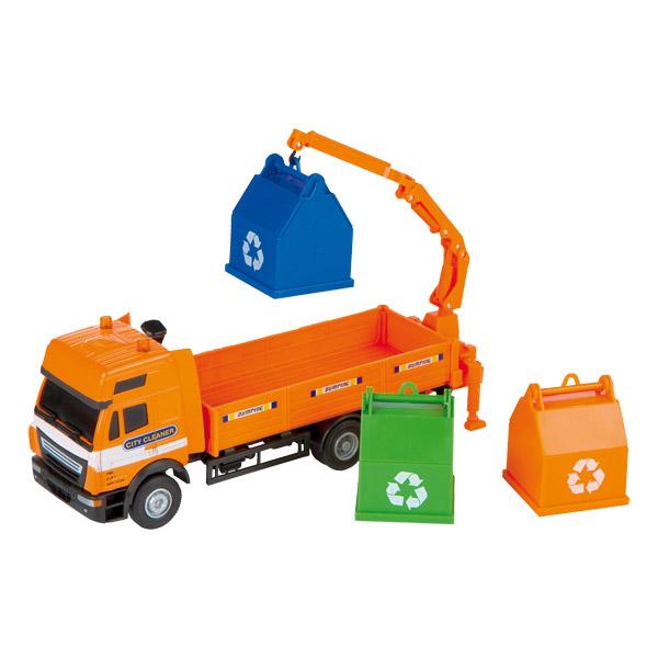 Direct jouets Jouets vehicules  Camion poubelle métal 1/40ème