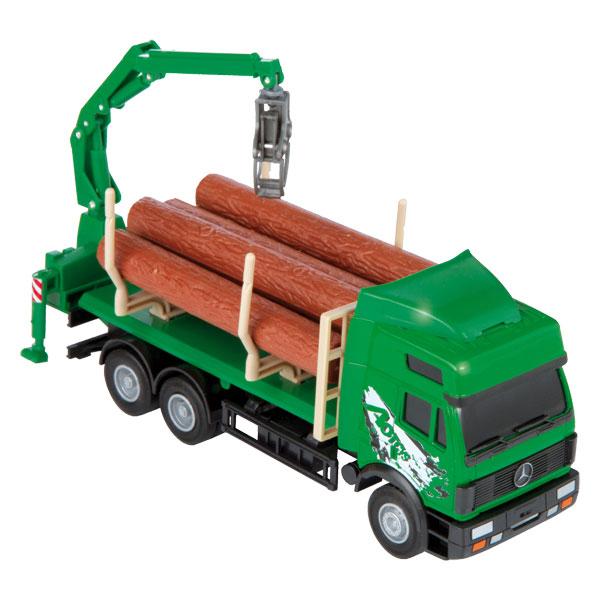 Camion Transport de Bois Métal 1/40ème de Super jack City